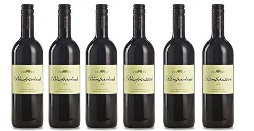 Blaufränkisch Krutzler 2018  6er Paket zu je € 8,90   / Krutzler