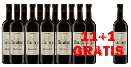 Blaufränkisch  Umathum 2015  11 + 1 Gratis   / Umathum Josef