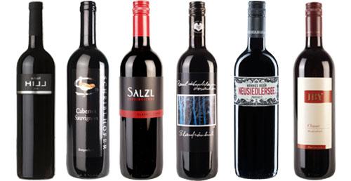 6 Topweine - Rot aus Österreich mit 15% Ersparnis     / IBY