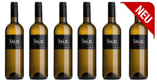 Chardonnay New Style 2017  im 6er Pack zu je € 9.90   / Salzl