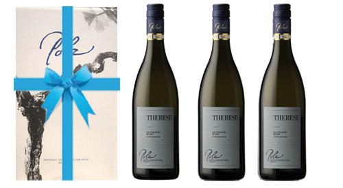 Sauvignon Blanc Therese 2018 + 3er Geschenkskarton   / Polz Erich & Walter