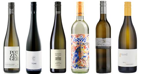 6 Topweine - Weiss  aus Österreich mit 15% Ersparnis     / Strauss Karl u. Gustav