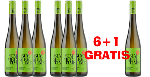 Potzinger Summertime 2018 Weinpaket 6 +1  Gratis   / Potzinger Stefan