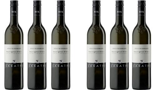 Sauvignon Blanc STK Klassik 2017 Sabathi Erwin  6er Paket zu je € 12.20   / Sabathi Erwin