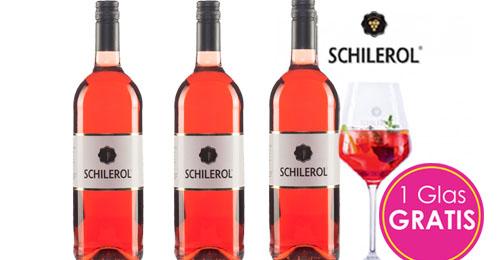 Schilerol 3er Paket + 1 Original Glas GRATIS   / Machater Armand