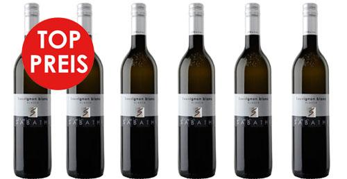 Sauvignon Blanc Südsteiermark DAC 2019 Sabathi Erwin  6er Paket zu je € 11.50   / Sabathi Erwin