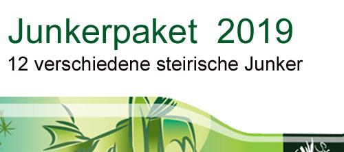 Degustations 12er Junkerpaket 2019 mit 5% Preisvorteil    / Tschermonegg