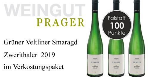 Prager Grüner Veltliner Smaragd Zwerithaler Kammergut 2019    / Prager