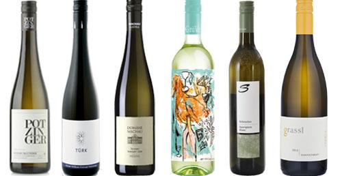 6 Topweine - Weiss  aus Österreich mit 15% Ersparnis     / Grassl Philipp