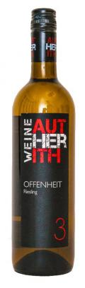 Riesling Offenheit 2016 / Autherith