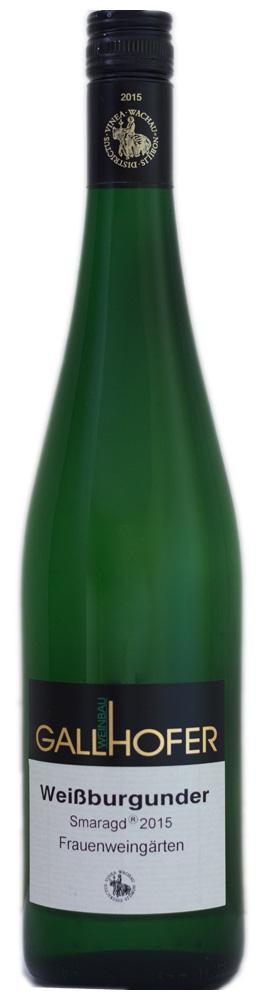 Weißburgunder Smaragd Frauenweingärten 2015 / Weinbau Gallhofer