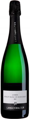 Pinot Blanc de noir Sekt brut 2016 / Langenwalter