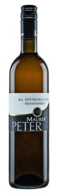 Spätburgunder Weißherbst 2015 / Maurer