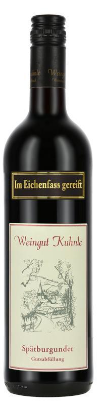 Spätburgunder trocken >im Eichenfass gereift< 2016 / Kuhnle