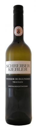 Weißburgunder trocken 2015 / Schreiber-Kiebler