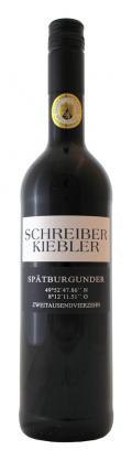 Spätburgunder trocken 2014 / Schreiber-Kiebler