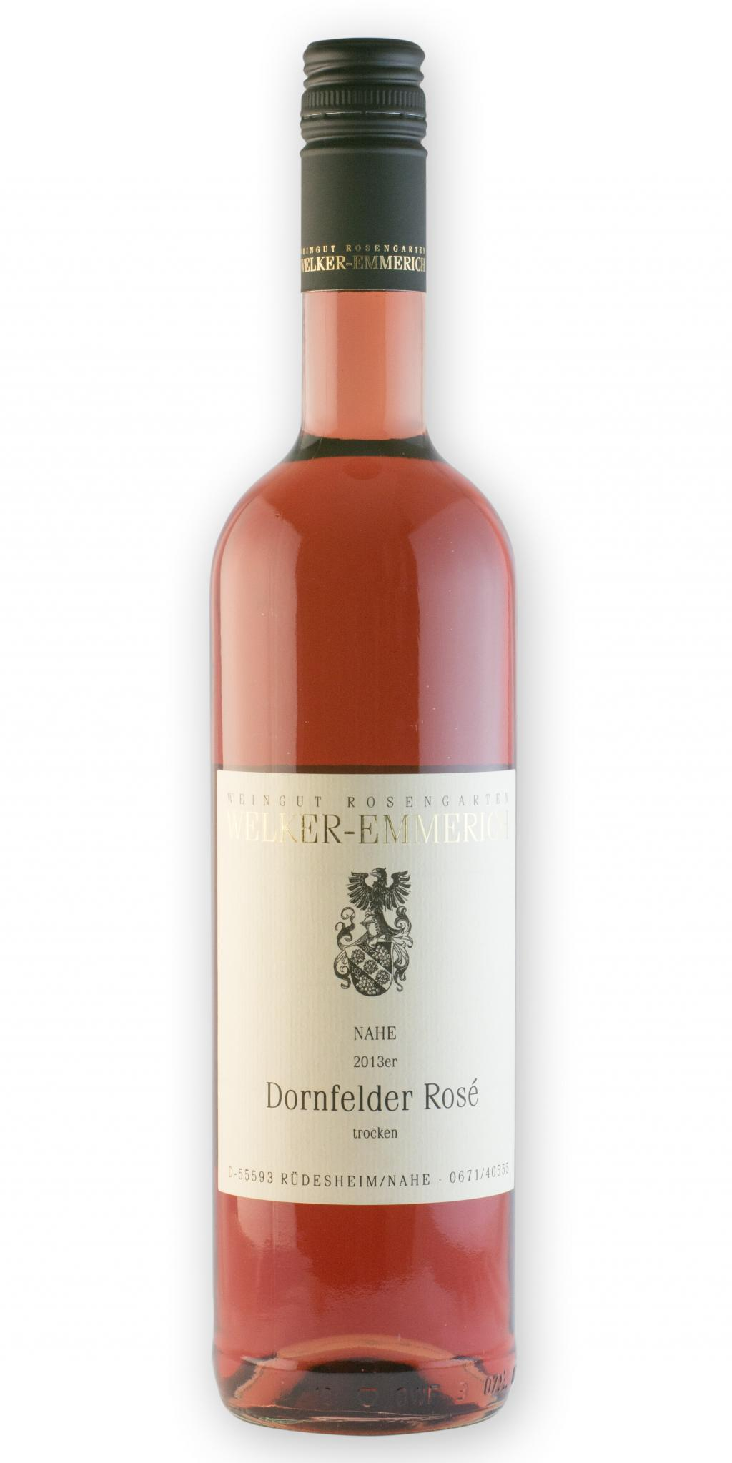 Dornfelder Rosé trocken 2015 / Welker-Emmerich
