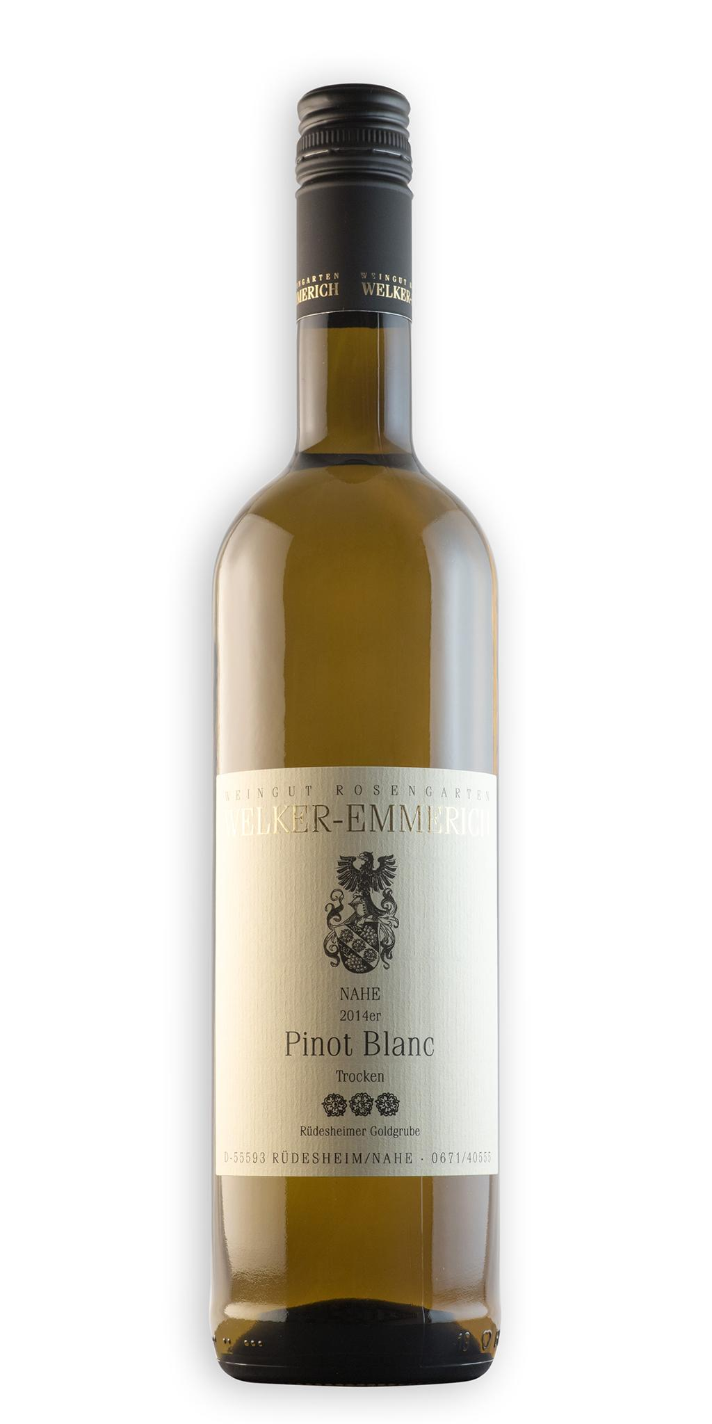 Pinot Blanc - Edition 3 Rosen - 2015 / Welker-Emmerich