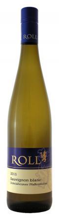 Sauvignon Blanc Dittelsheimer Pfaffenmütze trocken 2015 / F. & Chr. Roll