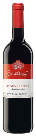 Dornfelder Qualitätsrotwein trocken 2018 / Schultheiß