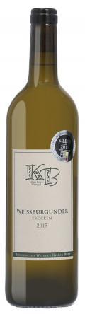 Weißburgunder  2015 / Biologisches Weingut Kilian Bopp