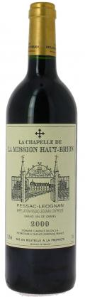 La Chapelle de La Mission Haut-Brion  2000 / Chateau Chapelle de La Mission Haut-Brion