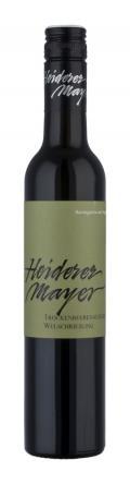 Weißburgunder Beerenauslese Weißburgunder 2017 / Heiderer-Mayer