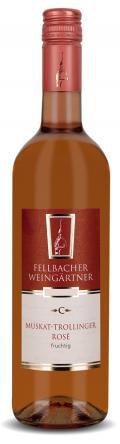 Muskat-Trollinger Rosé >C< fruchtig 2016 / Fellbacher Weingärtner eG
