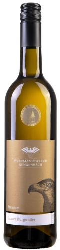 Grauer Burgunder Premium trocken 2016 / Weinmanufaktur Gengenbach-Offenburg