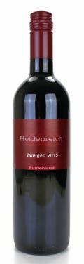 Zweigelt klassik 2015 / H & H Heidenreich