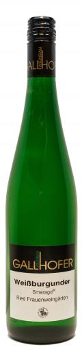 Weißburgunder Smaragd 2016 / Weinbau Gallhofer