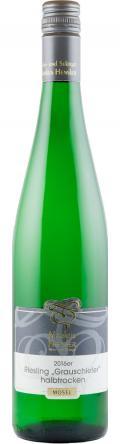 Riesling Grauschiefer Qualitätswein 2016 / Wein- und Sektgut Markus Hensler