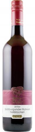 Spätburgunder Qualitätswein 2015 / Wein- und Sektgut Markus Hensler