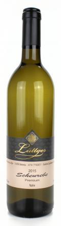 Scheurebe Premium Qualitätswein 2015 / Weinhaus Lüttger