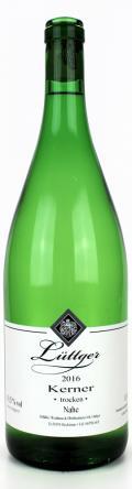 Kerner Qualitätswein 2016 / Weinhaus Lüttger