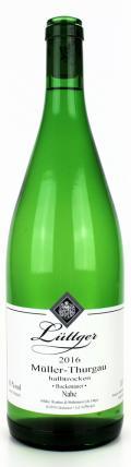 Müller Thurgau Qualitätswein 2016 / Weinhaus Lüttger
