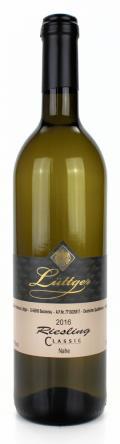 Riesling Classic Qualitätswein 2016 / Weinhaus Lüttger