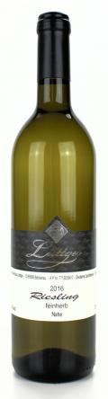 Riesling Qualitätswein 2016 / Weinhaus Lüttger