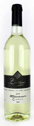 Rivaner Classic Qualitätswein 2015 / Weinhaus Lüttger