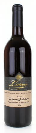 Dornfelder Qualitätswein 2015 / Weinhaus Lüttger