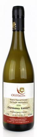 Chardonnay Dertinger Mandelberg Kabinett 2016 / Oesterlein