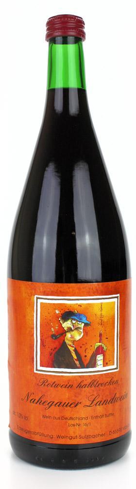 Cuvee Roter Nahegauer Landwein - / Weingut Sulzbacher