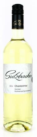 Chardonnay feinherb  2018 / Weingut Sulzbacher