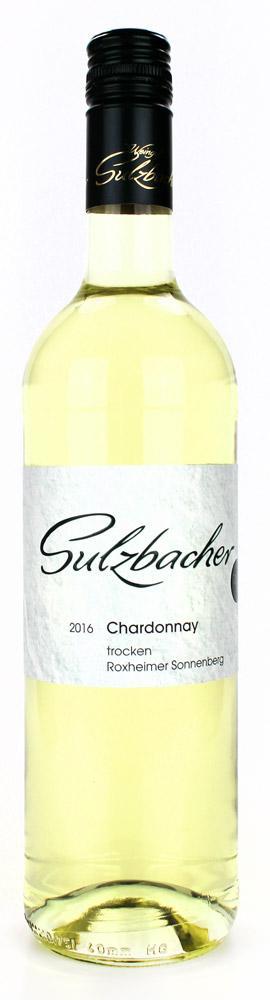 Chardonnay feinherb  2019 / Weingut Sulzbacher