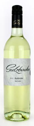 Ruländer  2015 / Weingut Sulzbacher