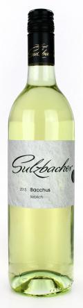 Bacchus lieblich 2017 / Weingut Sulzbacher