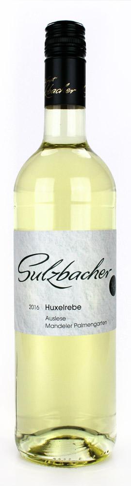 Huxelrebe & Solaris süß 2017 / Weingut Sulzbacher