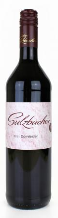 Dornfelder lieblich 2017 / Weingut Sulzbacher