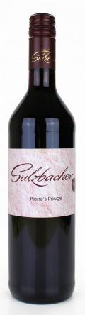 Cuvee Pierre's Rouge lieblich - / Weingut Sulzbacher