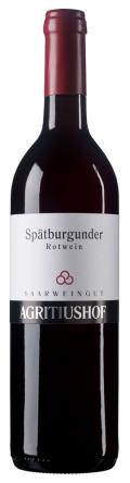 Spätburgunder  Rotwein trocken 2012 / Weingut Agritiushof